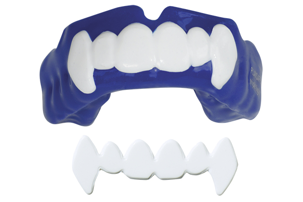 Playsafe 4u, anterior teeth white